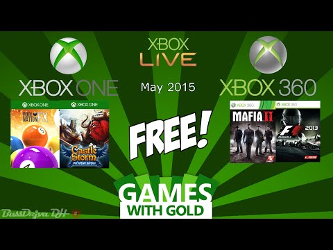Xbox Free Games with Gold May 2015 - Xbox One & Xbox 360