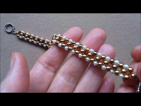 Beaded bracelet for beginners