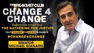 Sen. Michael Gianaris Stands Up For Justice During The #Change4Change Radiothon