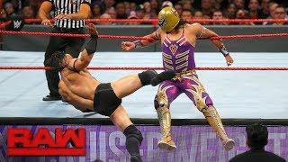 Gran Metalik vs. Neville: Raw, Sept. 18, 2017