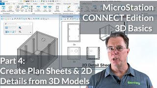 MicroStation CONNECT Edition 3D Basics: 02 Walk Through and