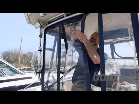How to Clean and Care for Boat Isinglass and Canvas