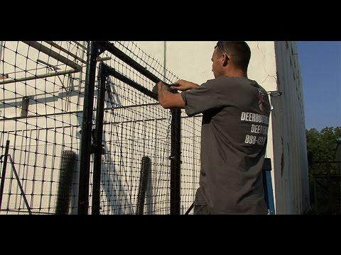 DeerBusters.com Deer Fence Installation Video