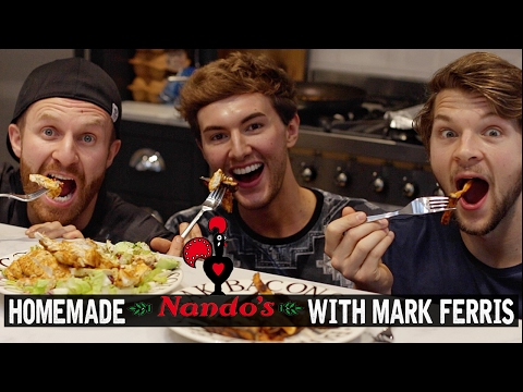 Nandos Butterfly Chicken Recipe - with Mark Ferris