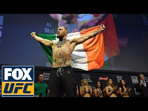 Conor Mcgregor Ronda Rousey And More Weigh In Ufc 205