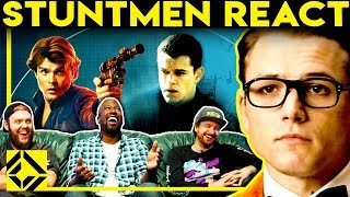 Stuntmen React To Bad & Great Hollywood Stunts 7