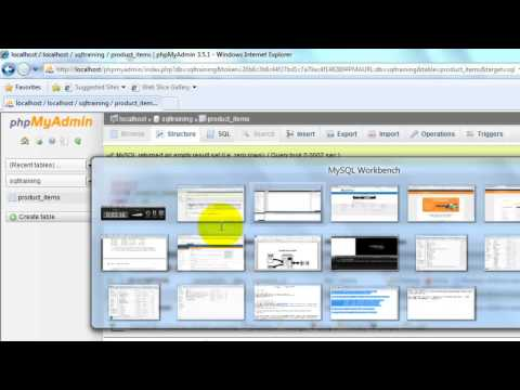 Complete SQL Tutorial - Configuration between WAMP and MYSQL Workbench to access DB - Chapter 3