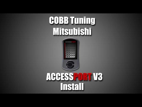 COBB Mitsubishi AccessPORT V3 Install Video