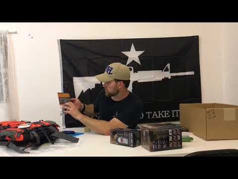 Battlbox survival and tactical gear box review: Mission 38 Day hike backpack