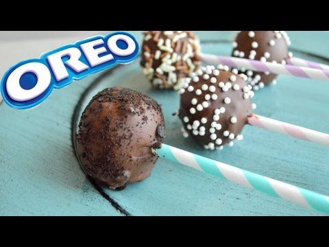 CAKE POPS - OREO (CON 3 INGREDIENTES) | Azul Cos