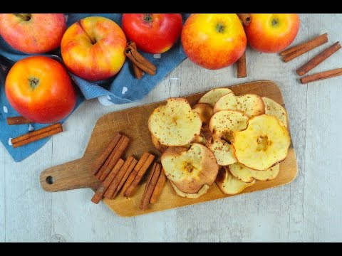 How to make apple cinnamon chips
