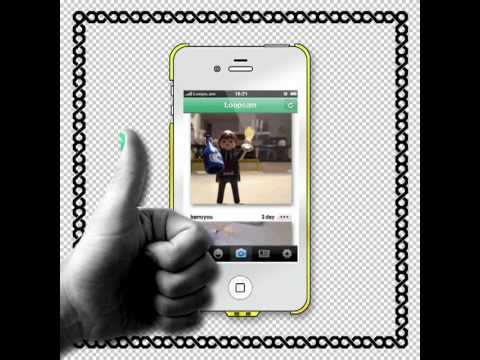 How to Make GIF Photo Animation In IPhone With LoopCam App