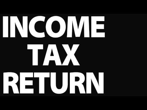 Income tax return : Why complete an income tax return?