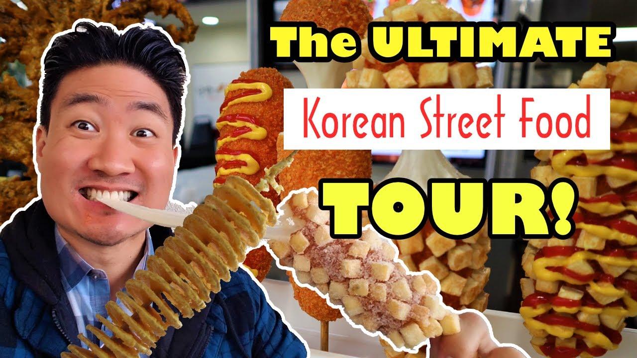 KOREAN STREET FOOD in Los Angeles