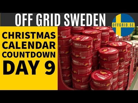 We go to the ginger thin factory store — (Day 9) Christmas Calendar Countdown