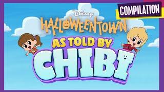 Halloweentown Chibi Tiny Tales 🎃   Compilation   Disney Channel Animation