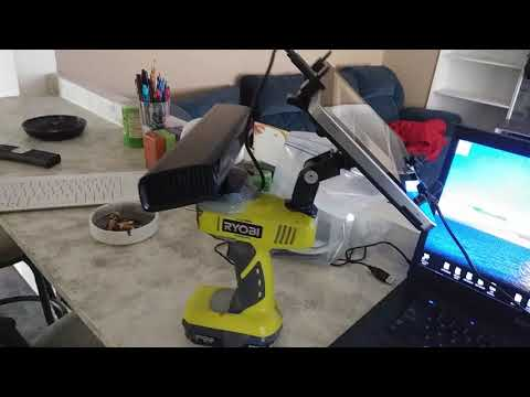 HOMEMADE RYOBI 18V SLS XBOX 360 KINECT CAMERA for Ghost Hunting