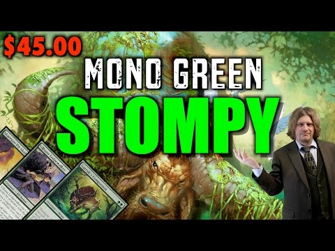 MTG - How To Build Green Stompy for only $45.00! A Magic: The Gathering Pauper Deck