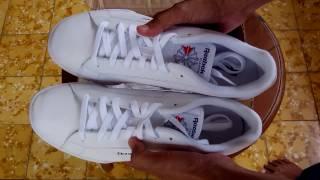 8baa48b7b478 Sepatu Sneakers Reebok NPC II Classic White Original
