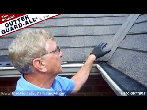 Gutter Guard-All: Roof Valley and Corners