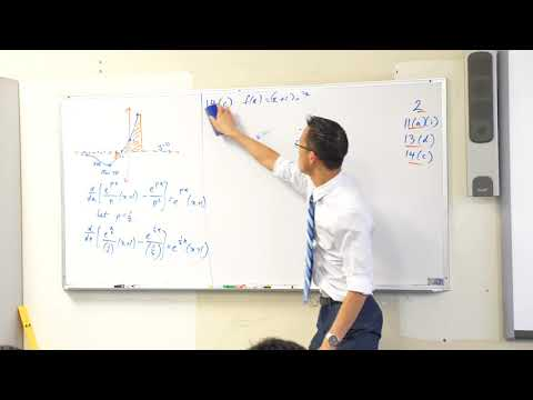 Interpreting a Graph w/ Calculus (2 of 2: Evaluating an area)