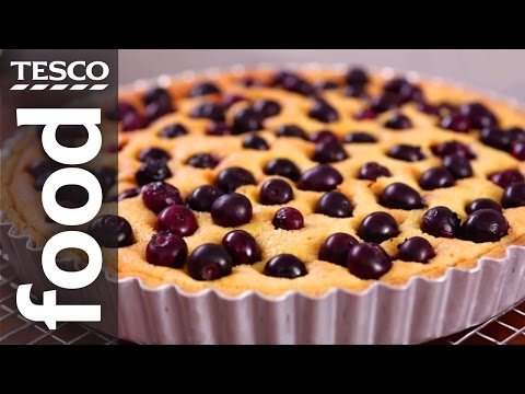 How to Make Almond and Blueberry Tart | Tesco Food