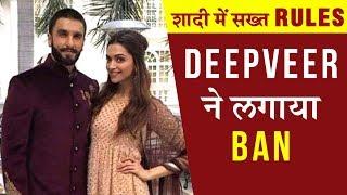 Ranveer Singh - Deepika Padukone Set STRICT RULES For Their Italian Wedding