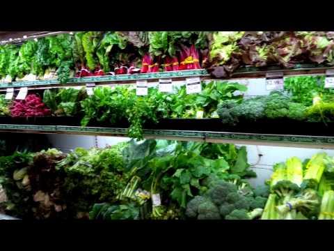 Produce at Integral Yoga Natural Foods