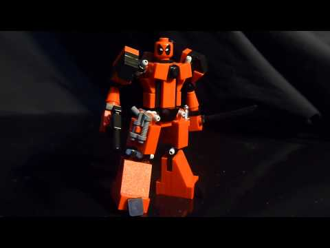 Deadpool , a Lego Superhero creation by Boyzwiththemosttoyz