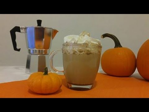 How to make pumpkin spice latte coffee recipe- Episode 39