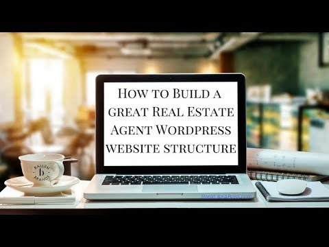 How to Build a Wordpress Real Estate Agent Website Structure | 2018 | [29:31]