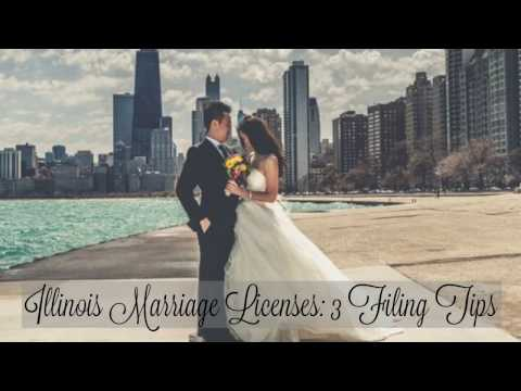 Illinois Marriage Licenses: 3 Filing Tips