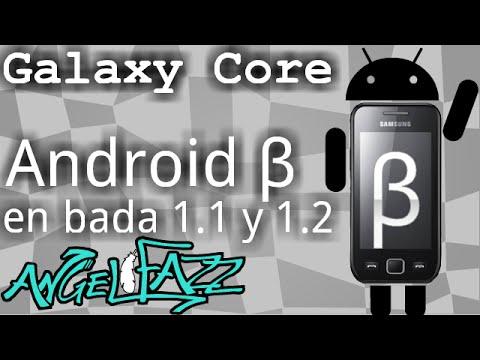 Android beta en bada 1.1 y 1.2 // Angel Fazz