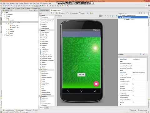 How To Add Background Image To Activity - Android Studio - Video