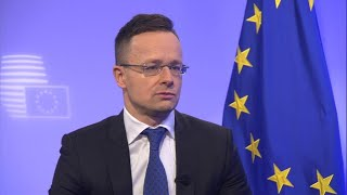 Hungarian FM Szijjarto says EU wants to legalise illegal migration