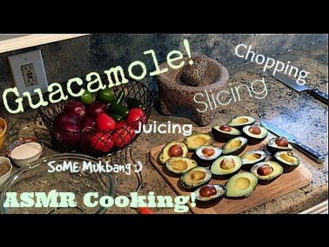 Chipotle Guacamole Recipe - ASMR Cooking Tutorial