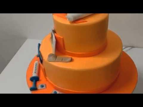 How to make cake Nursing Doctor Theme cake