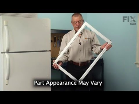 Frigidaire Refrigerator Repair – How to replace the Freezer Door Gasket
