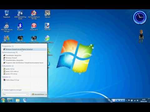 Windows Vista/7 Firewall ausschalten