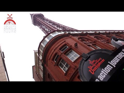 Come inside the Blackpool Tower Dungeon Escape Rooms | The Guide Liverpool