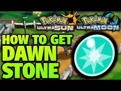 How to Get Dawn Stone Location – Pokemon Ultra Sun and Moon Dawn Stone Location
