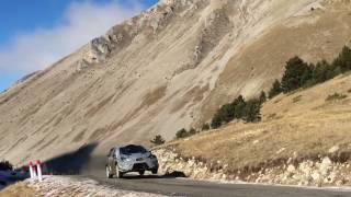 Toyota Yaris WRC 2017 Monte Carlo Tests - Juho Hänninen / Kaj Lindström