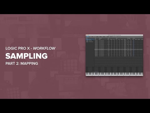 How To Sample In Logic Pro X - Part 2