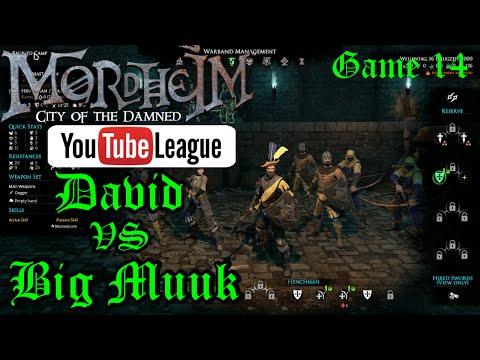 The Mordheim YouTube League - Muuk vs David - Round 3 Game 4/7 - Mordheim PvP Gameplay - Episode 14
