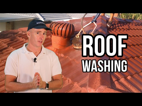 ROOF TILES PRESSURE WASHING - Queensland Roofing