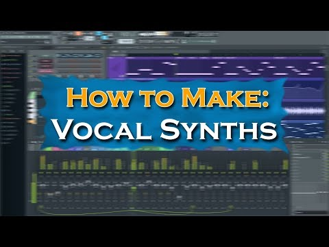 FL Studio 12 | How to Make Vocal Lead Synth