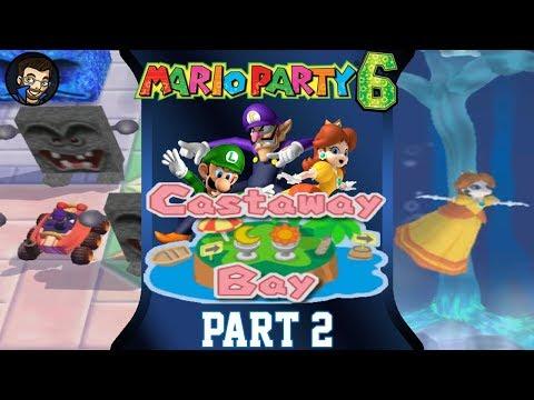 Mario Party 6 | Castaway Bay - Part 2/7