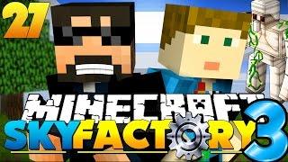 Minecraft: SkyFactory 3 - IRON GOLEM MURDER! [27]