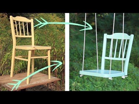 create your own DIY TREE SWING !