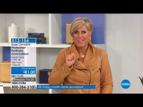 HSN | Suze Orman Financial Solutions for You 04.05.2018 - 05 AM